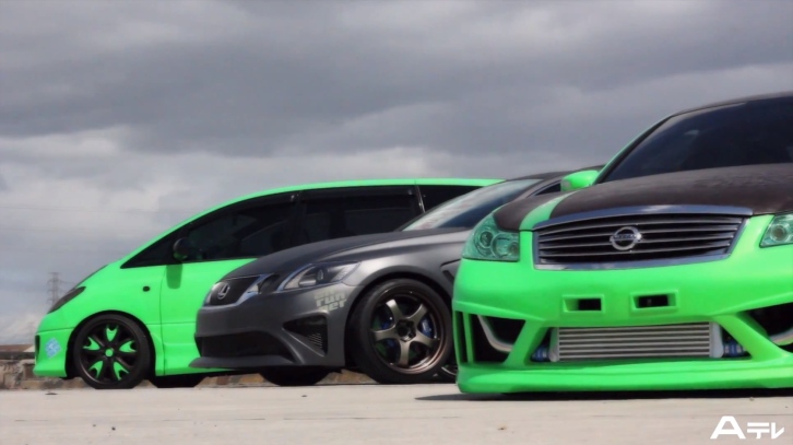 Watch a bagged toyota estima and lexus gs 350 video japanese watch a bagged toyota estima and lexus gs 350 video sciox Images
