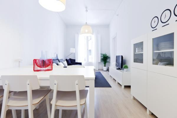 Central apartment for 7 people in Barcelona! GI1554 ...