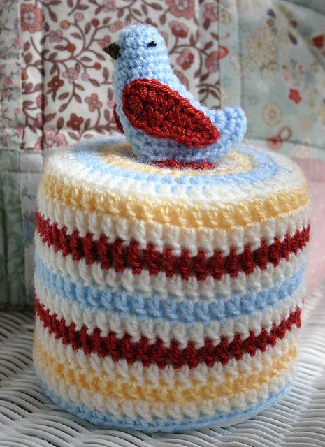 Ravelry Bird Toilet Roll Cover Pattern By Amy Jane Crochet Stuff