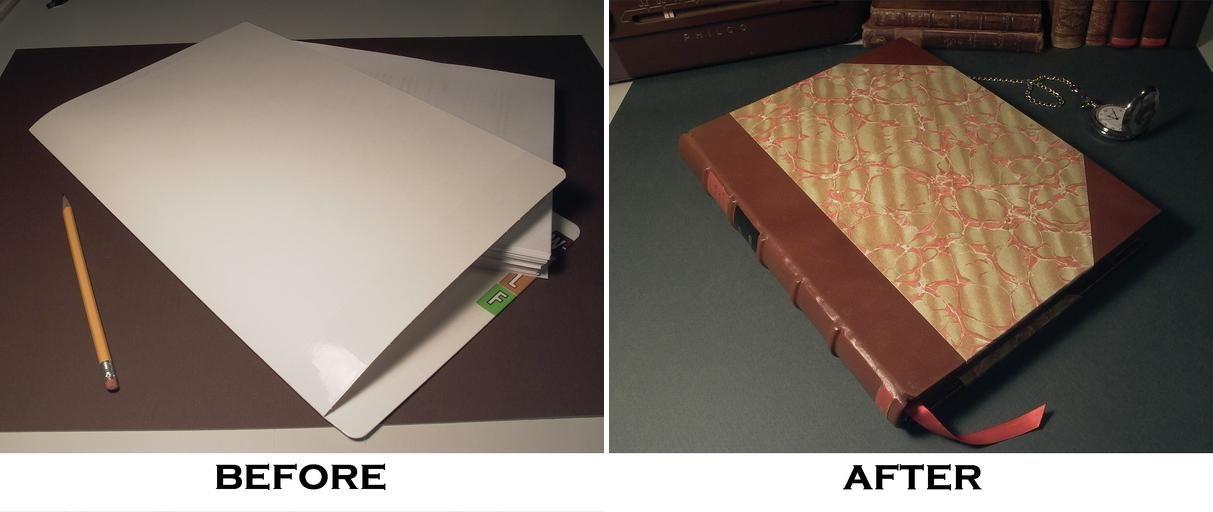 How To Bind A Book Single Sheet Binding Overcast Sewing Leaf Diy