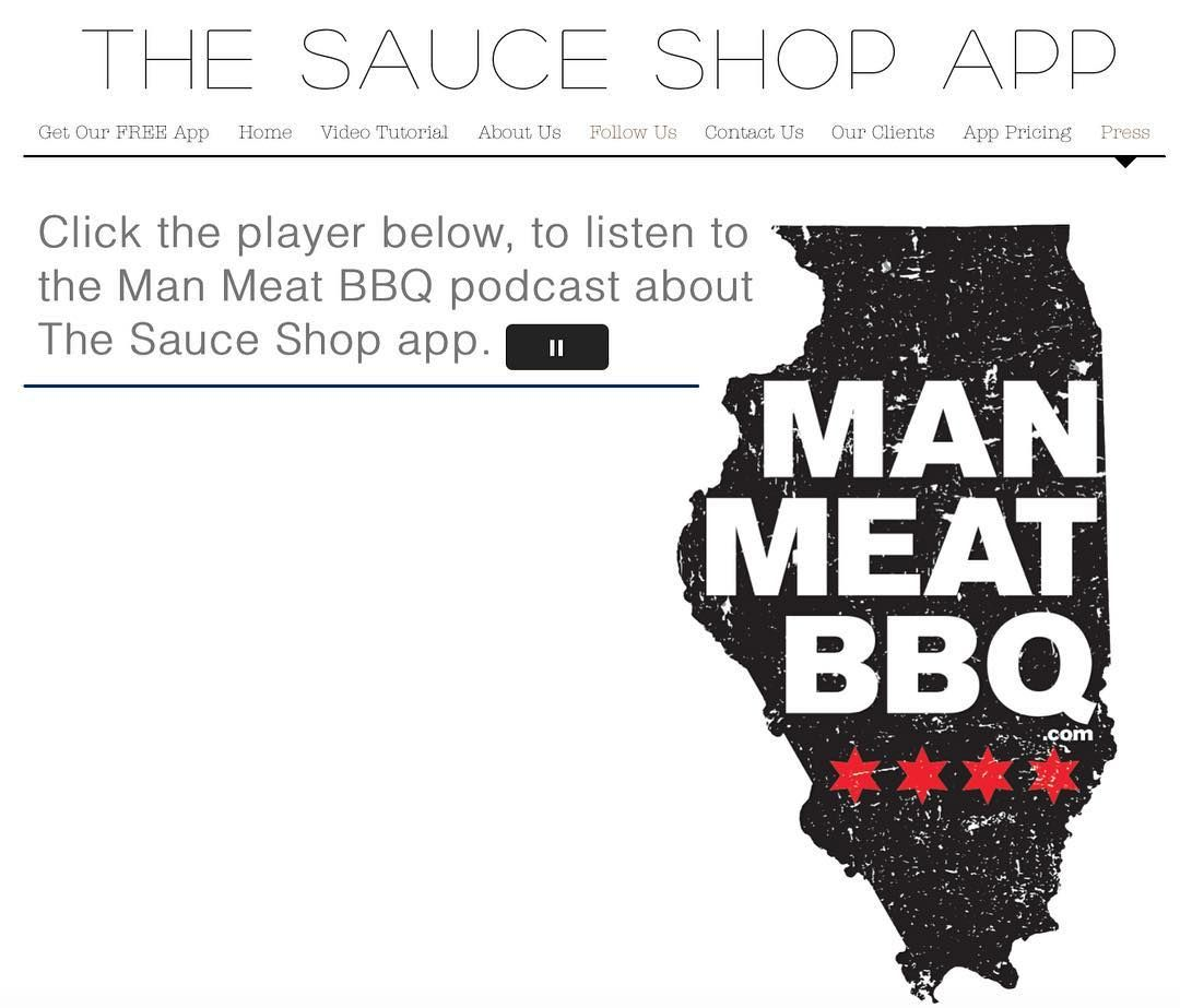 Check us out on http://ift.tt/23oS62Y or wwwmanneatbbq.com we are a featured podcast. Go to our website and click on the Press tab and hit the player button and listen to us! #manmeatbbq @manmeatbbq #sauceoftheday #brisket #biggreenegg #chicken #bbq #bbqsauce #pork #beef #porkbutt #smoker #smokering #barbecue #bbqapp #barbecuesauce #ribs #bbqribs #bbqbeef #smokedmeats #smoke #pulledpork #sauceotd #bbqbeast #hotsauce #bacon #manmeatbbq #charcoal #bbqgrill #kcbs - GET THE SAUCE SHOP APP go to…