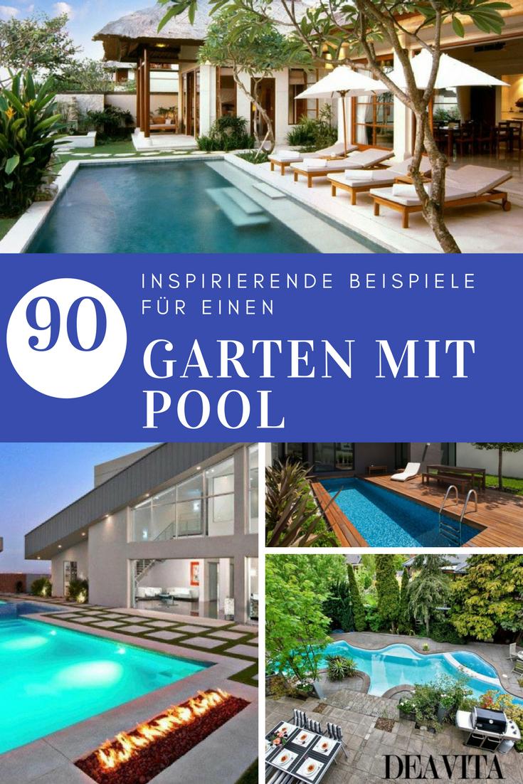 Fantastisch Garten Mit Pool   90 Bilder Und Inspirierende Beispiele