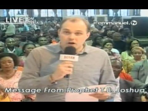 SCOAN 07/06/15: Message From Prophet TB Joshua  Emmanuel TV