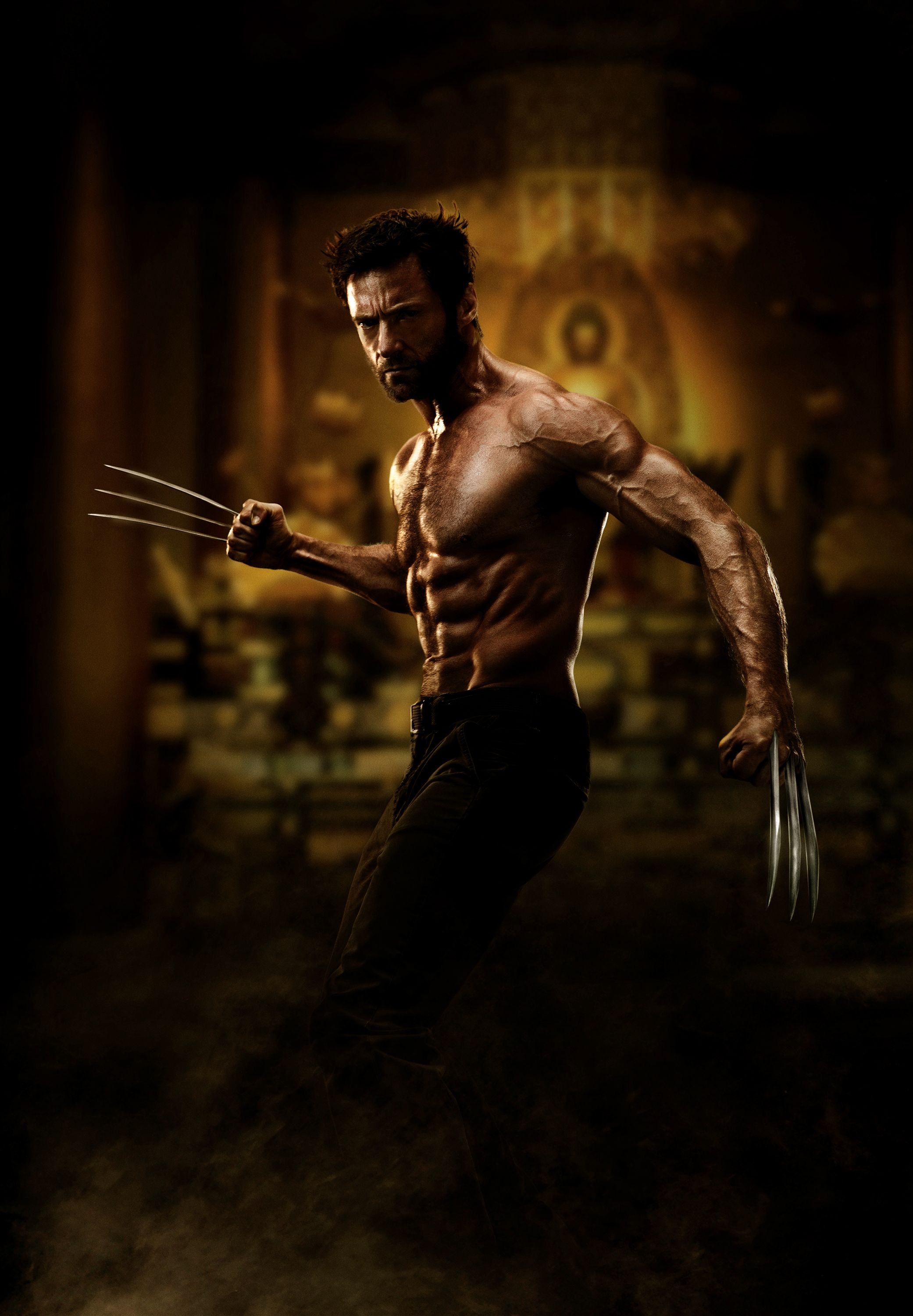 A First Look At The Wolverine 2013 Wolverine Movie Hugh Jackman Shirtless Wolverine Hugh Jackman