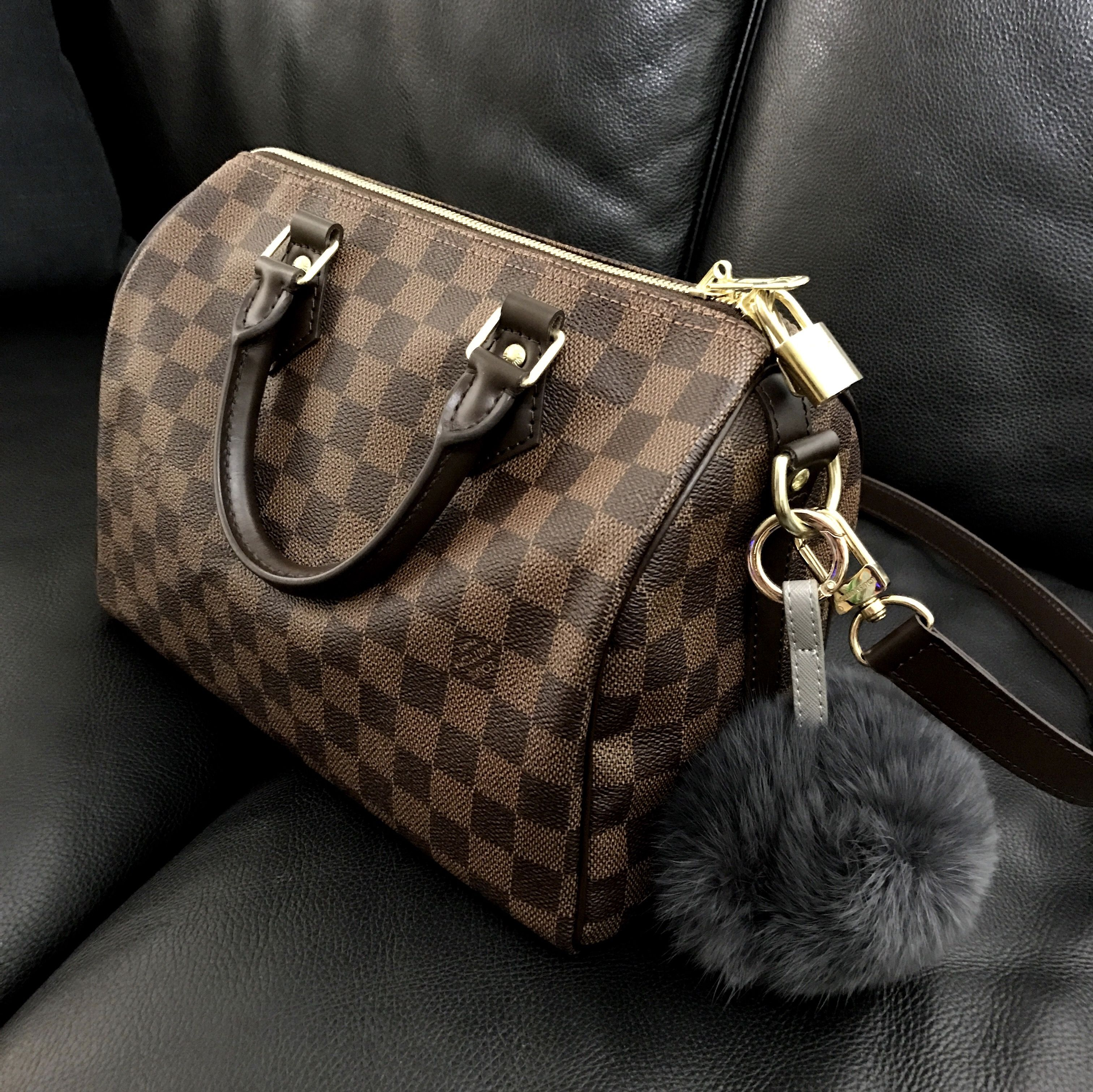 1ed9068e427f Louis Vuitton speedy b 25 in damier ebene
