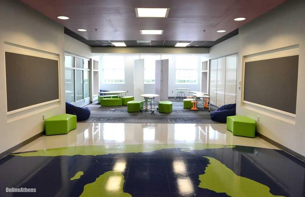 Modern Classroom Jobs ~ Modern school design interior buscar con google steve