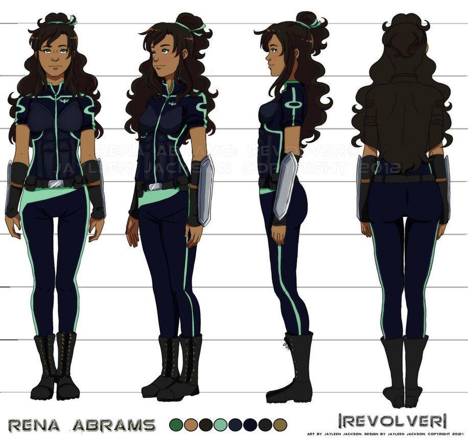 Rena's Final Turnaround by Jay-Jacks on deviantART