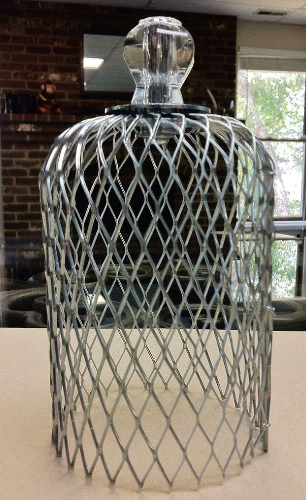 DIY Wire Cloche | cloche | Chicken wire crafts, Chicken wire art