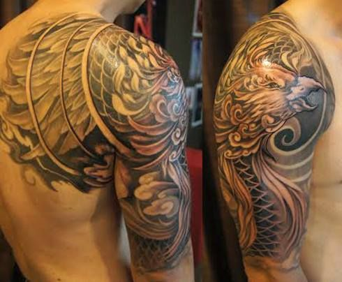 Asian Black and Grey Archives - Chronic Ink   Back piece