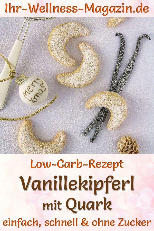 DIY-Geschenk: Vanillekipferl mit Quark #vanillekipferlrezept