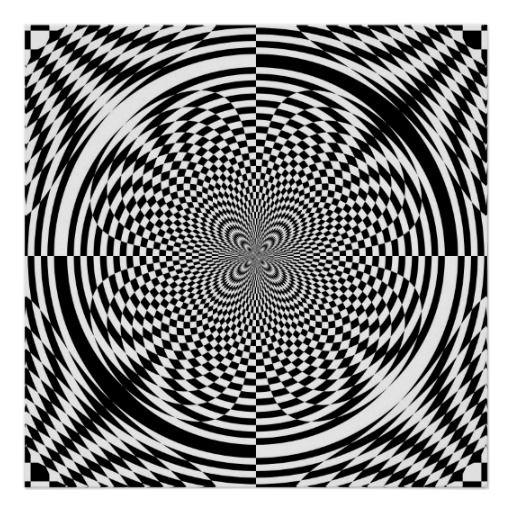 optische t uschungen von 11 95 plakate von zazzle optische t uschung pinterest poster. Black Bedroom Furniture Sets. Home Design Ideas