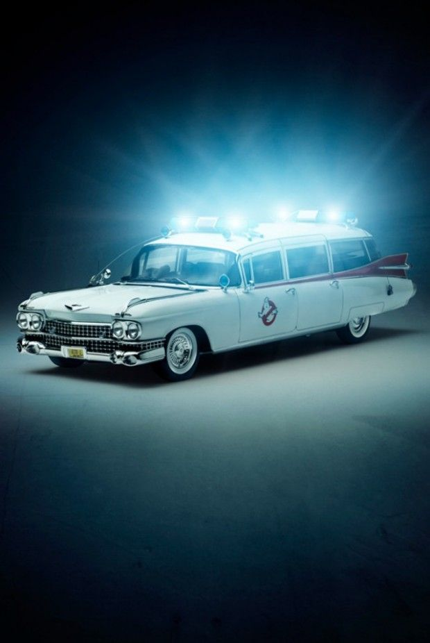 Cars We Love Ghostbusters Cars And Movie Cars - We love cool cars