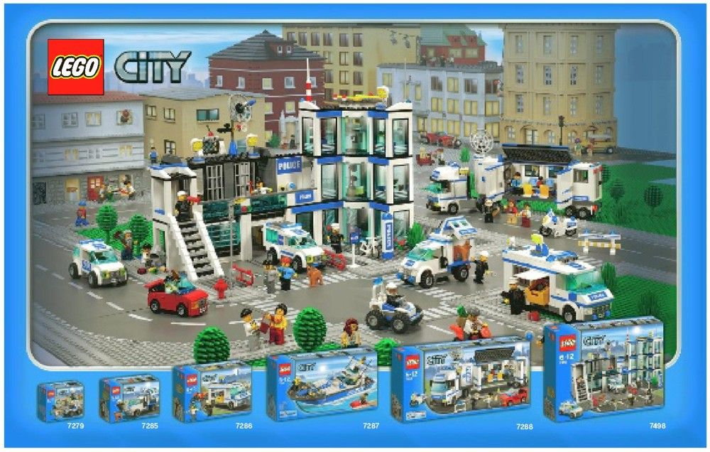 City Police Station Lego 7498 Lego Police Lego City Police Lego Police Station