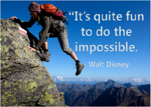 It's Quite Fun to Do the Impossible.