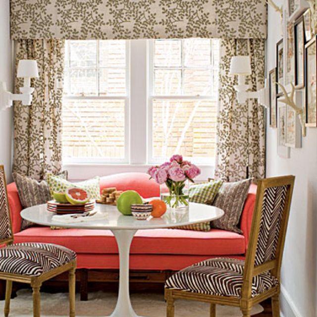 Vintage patterns, fresh colors