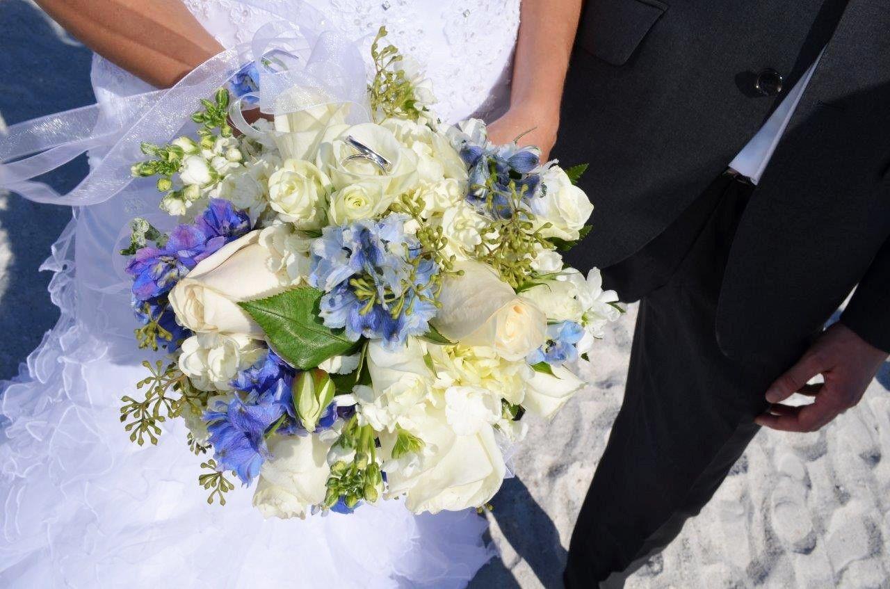 Hochzeitsstrauss Weiss Blau Hochzeit In 2019 Pinterest