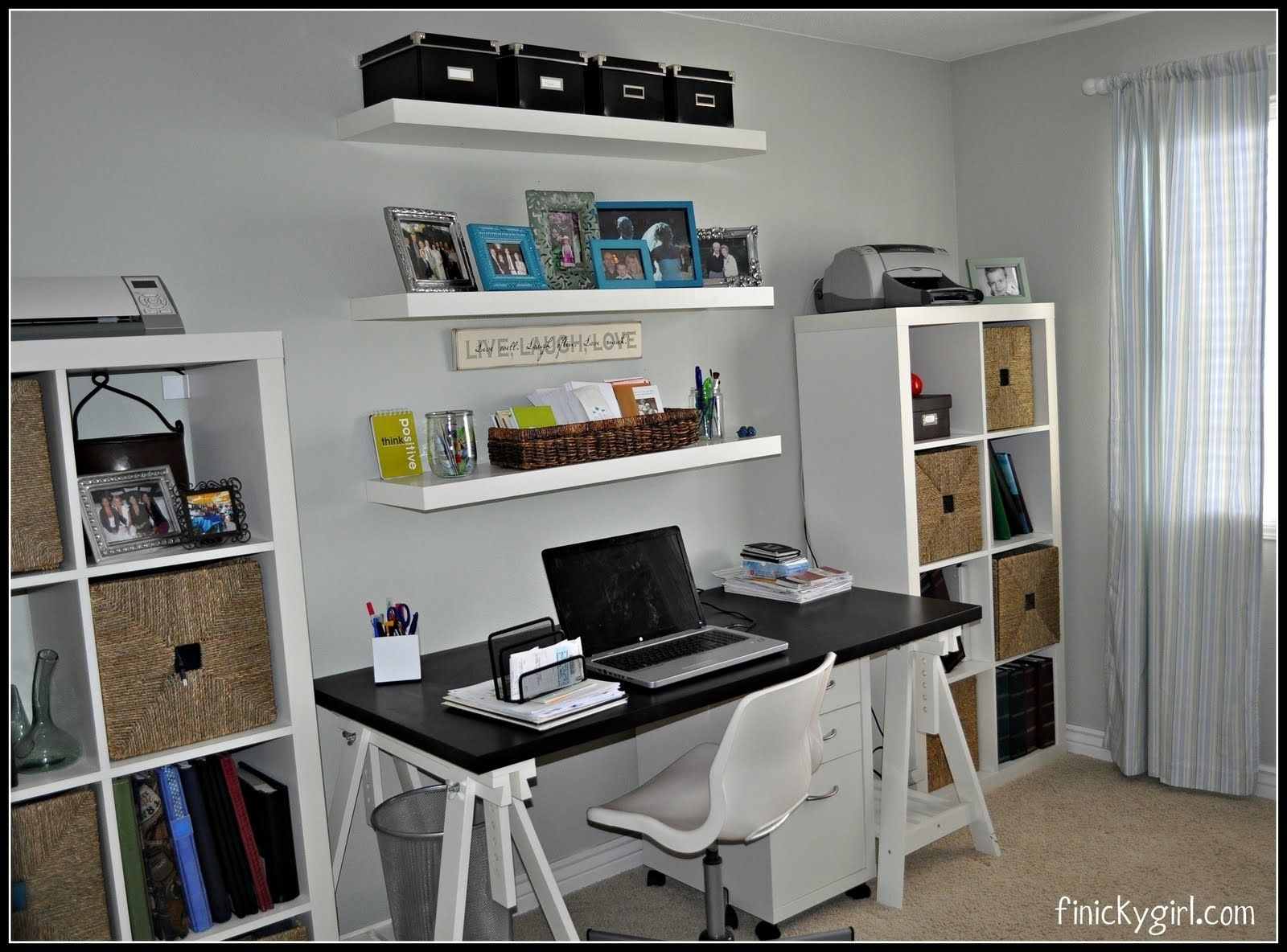 Office Desk With Shelves Above Home Office Chairs Office Wall Shelves Desk Shelves