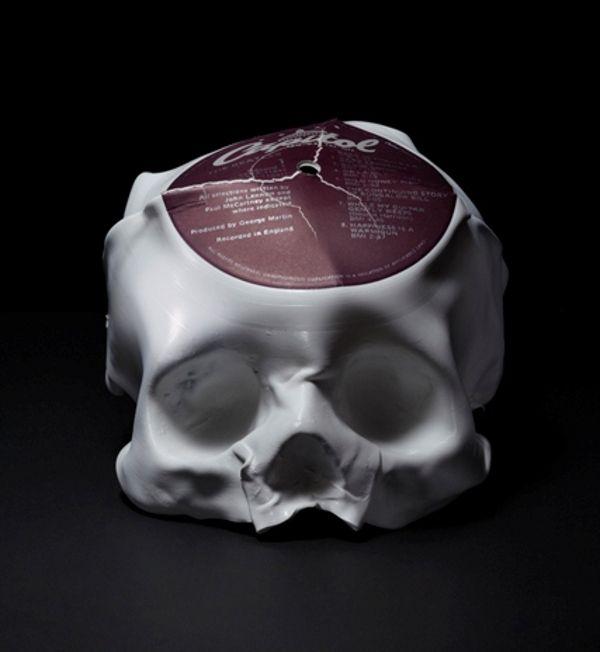 Los discos de vinil como cráneos derretidos | Pinterest | Vinil ...