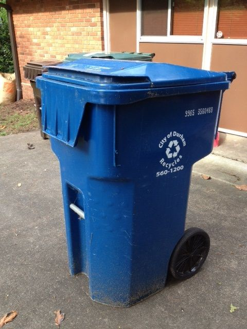 Durham Nc Recycling Cart Recycling Containers Pinterest