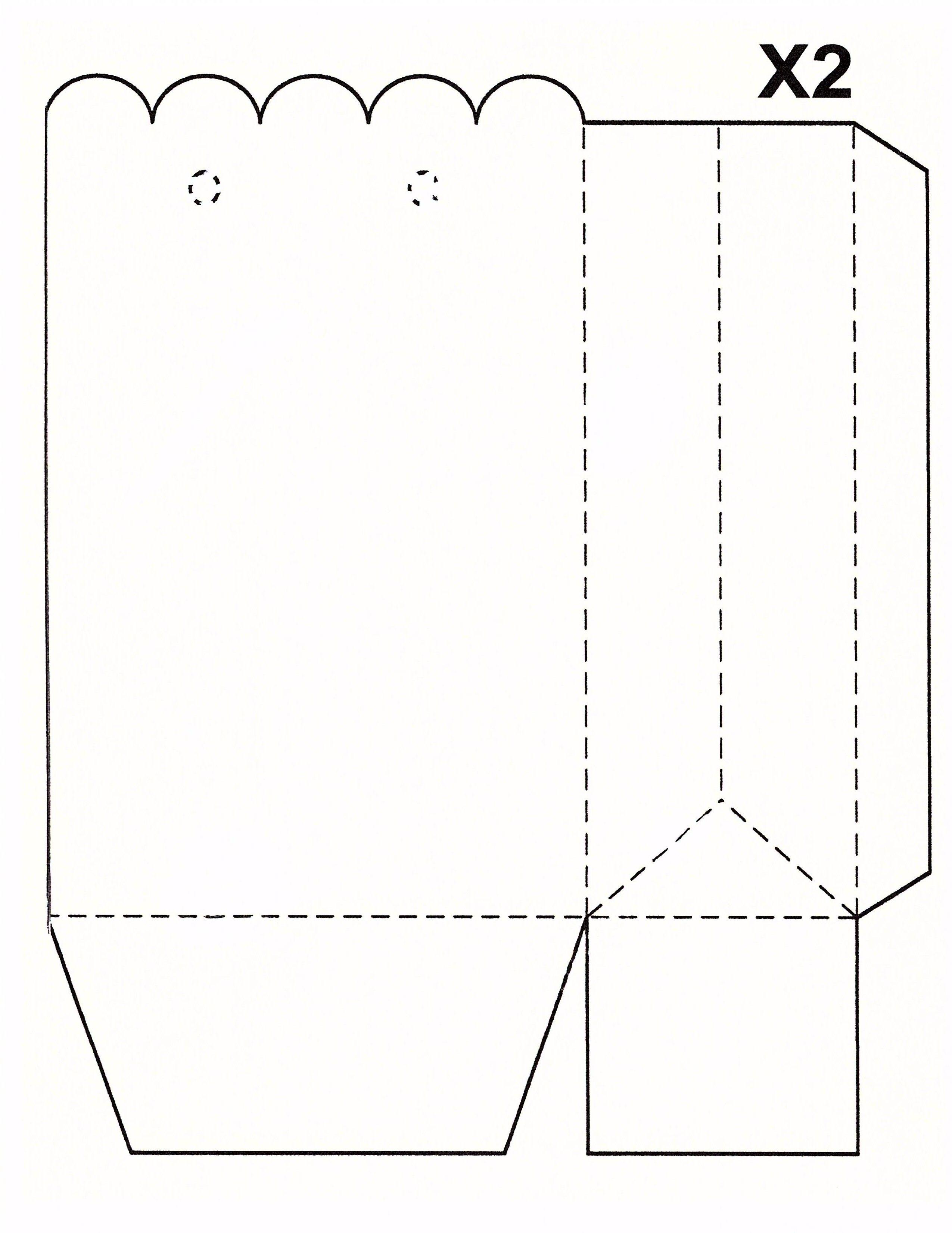 Scallop top X2 bag | Blank Templates | Pinterest | Scalloped tops