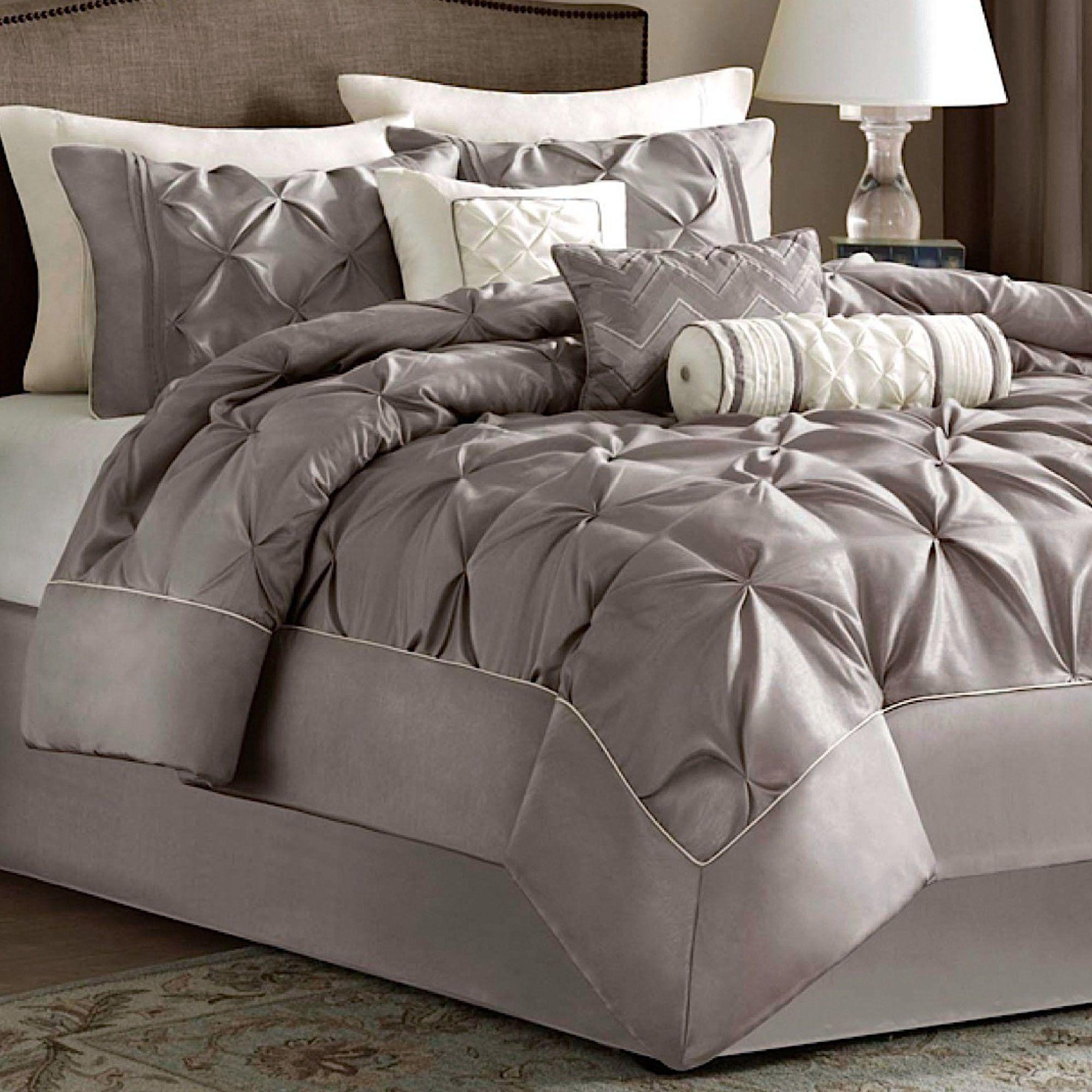 Piedmont Comforter Bed Set Taupe