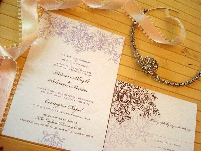 Wedding Invitation Royal Aisle Collection Save The Date Ceremony Programs Menus Thank You Cards