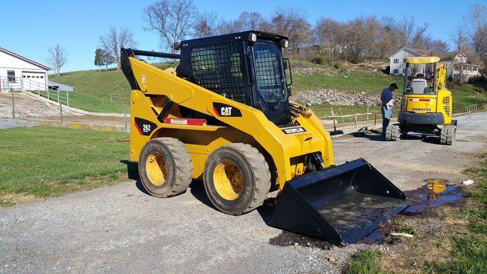 Caterpillar 262 Skid Steer Loader Diesel Engine Hydraulic 2 Speed Snow Machine Snow Removal Machine Construction Equipment Hydraulic