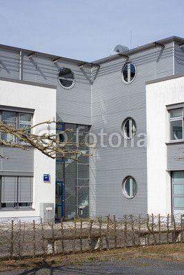 Modernes Wohnhaus in Deutschland