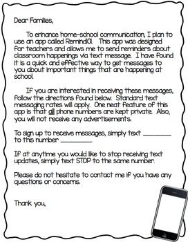 Preschool Parent Letter Template from i.pinimg.com