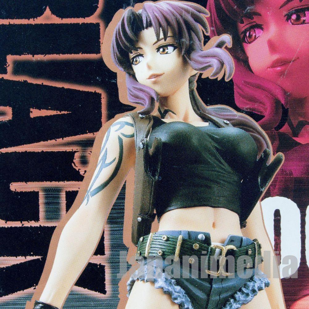 BLACK LAGOON Roberta Scale Figure Banpresto Anme Manga Japan Official Free