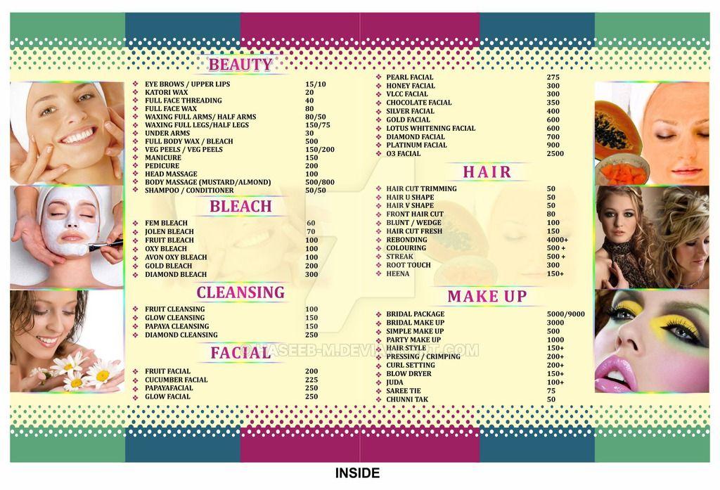 Style Ladies Beauty Parlour Inside Brochure by haseebm
