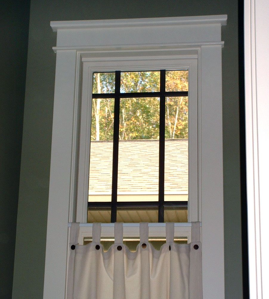 Finally i found a pic of the trim i wanted i was having for Colonial style trim