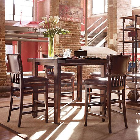 Stanley Modern Craftsman Pub Table - Closeout! | House MD ...