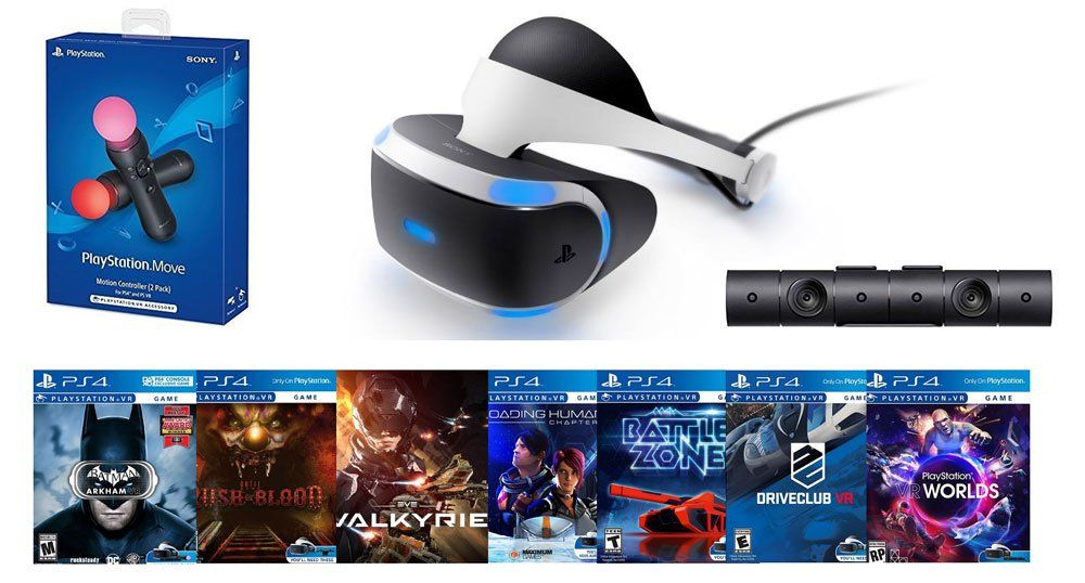 There's a $889 PlayStation VR ultimate bundle at GameStop: In a