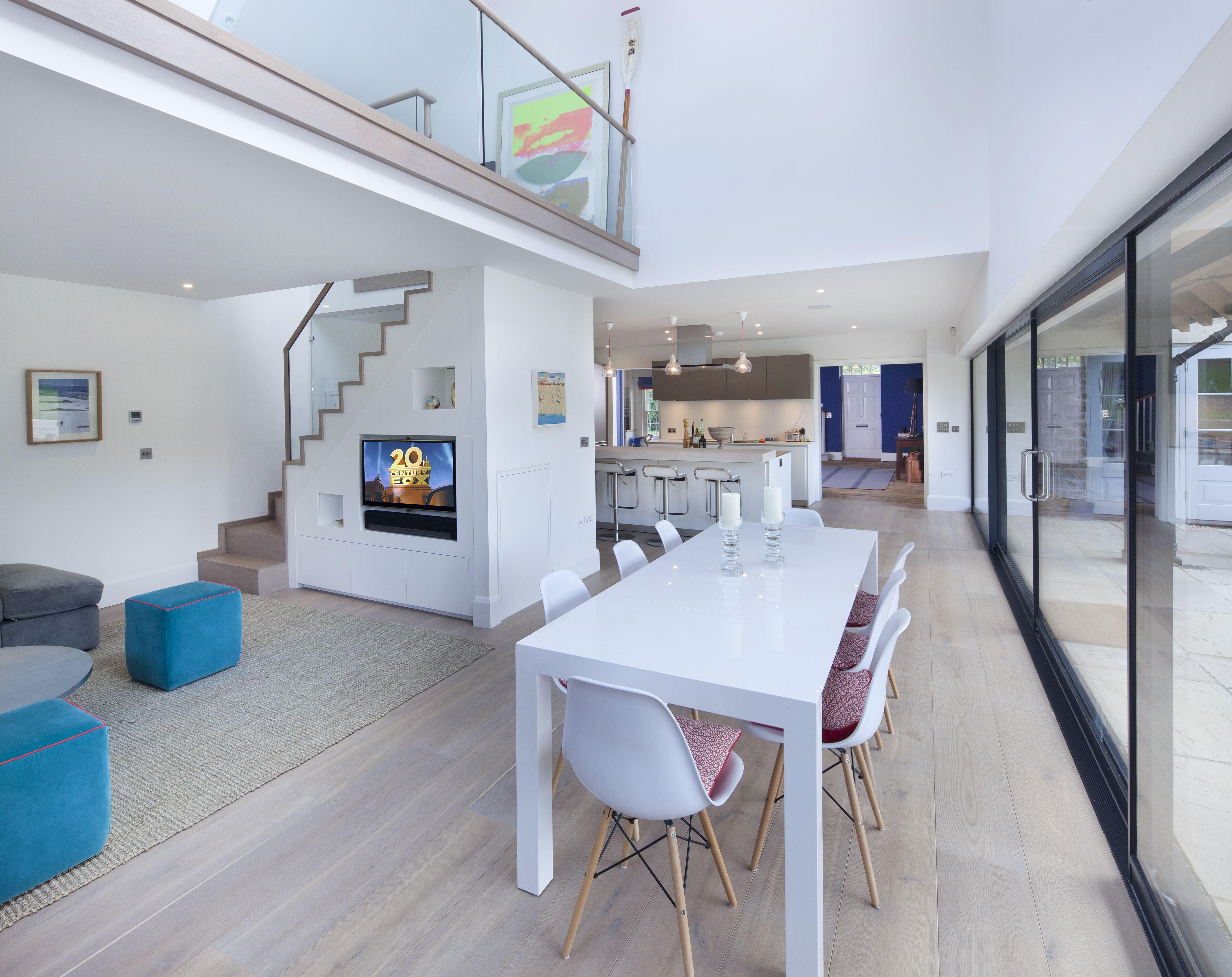 Hazelwood interior anderson orr architects for Mezzanine room designs