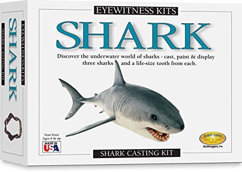 Skullduggery Eyewitness Shark Casting Kit Welovesharks Sharks Amazondeals Casting Kit Shark Learn Crafts