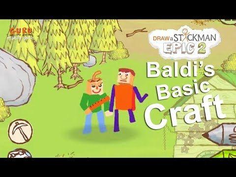 Baldi S Basics Minecraft Vs Monster 1 I Draw A Stickman Epic 2