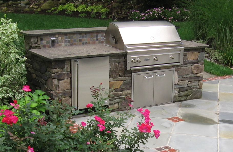 google image result for http www plantnj com images outdoor 2520kitchens quaint natural stone on outdoor kitchen natural id=17202