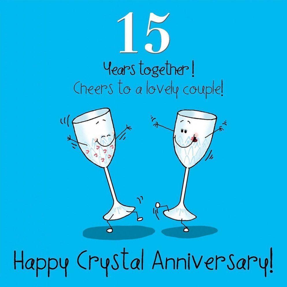 Card Verses For Wedding Anniversary Anniversary Card Verses Wedding Annivers Anniversary Happy 15th Anniversary 15th Anniversary Gift Happy Anniversary