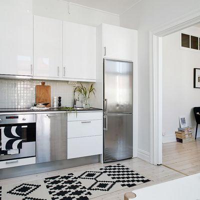 Encontrado en google en cocinas for Cocina blanca electrodomesticos blancos