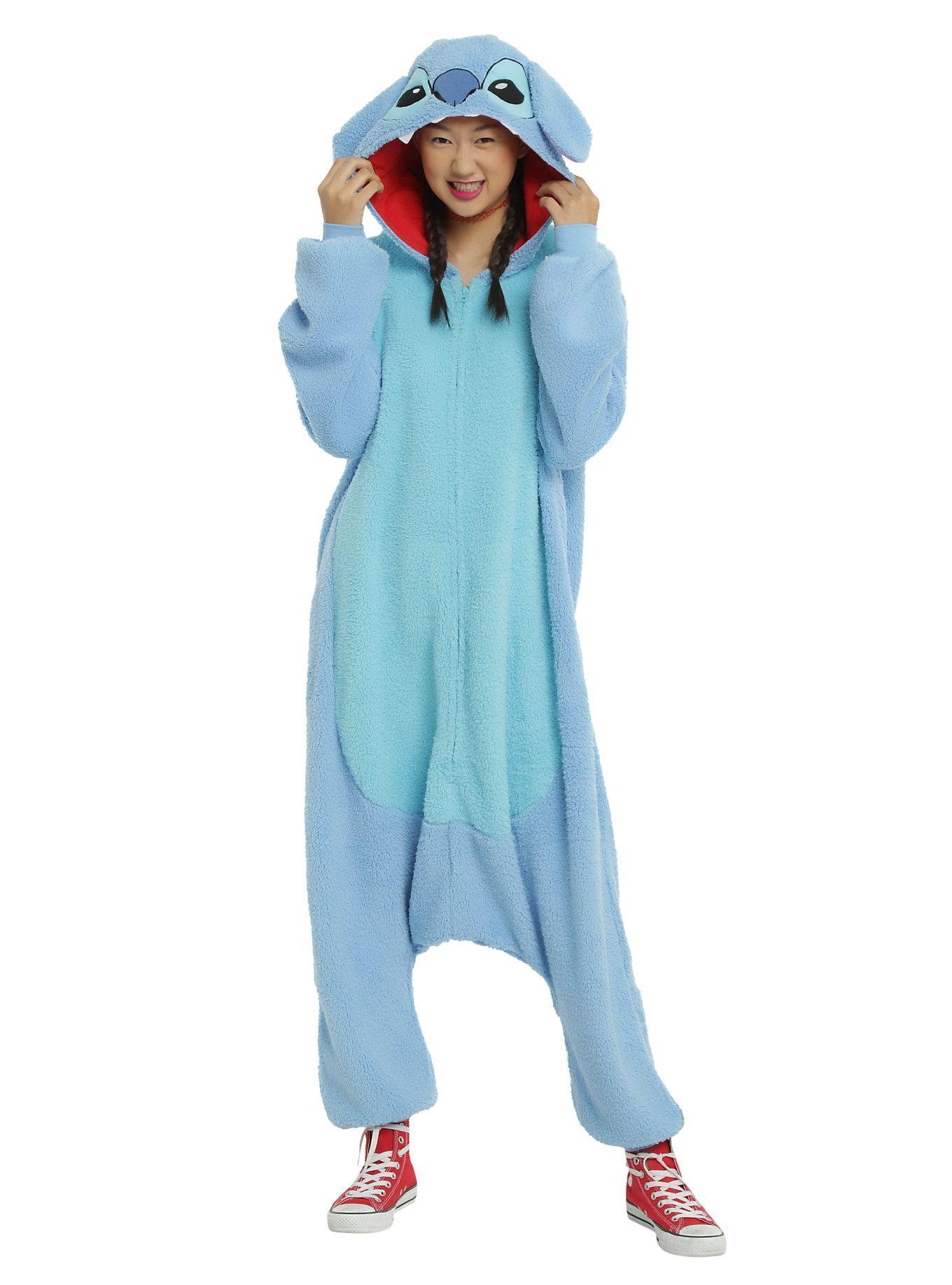 7c5f65a9eb3f As PJs or a costume - get Stitched! // Disney Lilo Stitch Union Suit