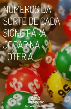 Numeros Da Sorte De Cada Signo Para Jogar Na Loteria Numeros Da