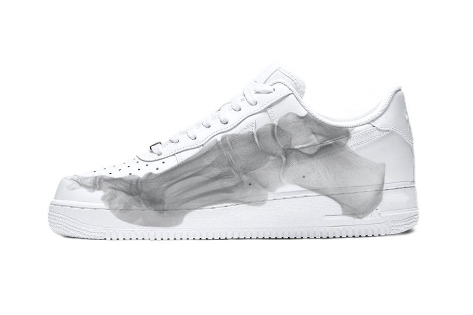 bfe9441162c3af Nike s Latest Air Force 1 Looks at the Skeletal Structure of the Foot