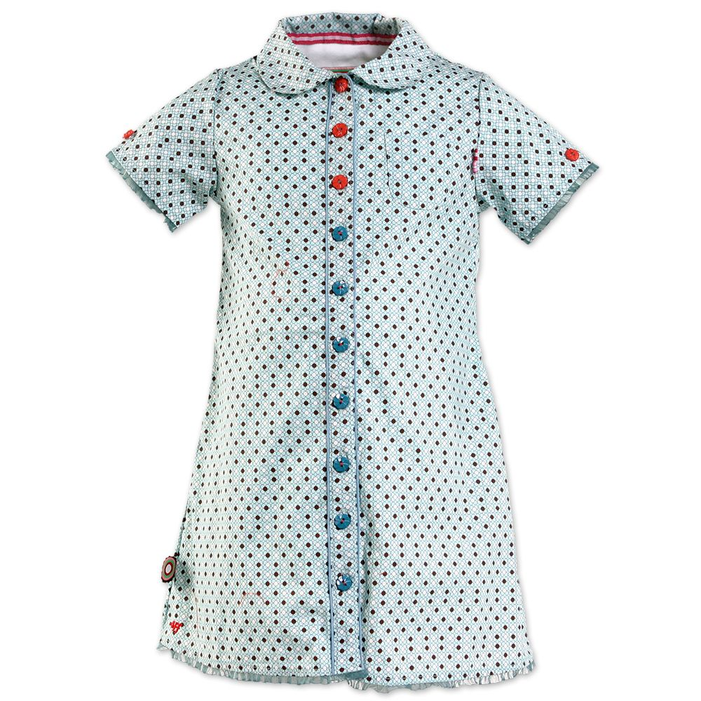 Polka Dot Dress (13S1300) | 4funkyflavours (baby & children's clothing)