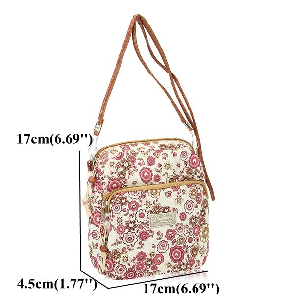 Lovely Small Coin Bag Flower Pattern Cute Shoulder Bag Crossbody Bag For Women is Worth Buying - NewChic
