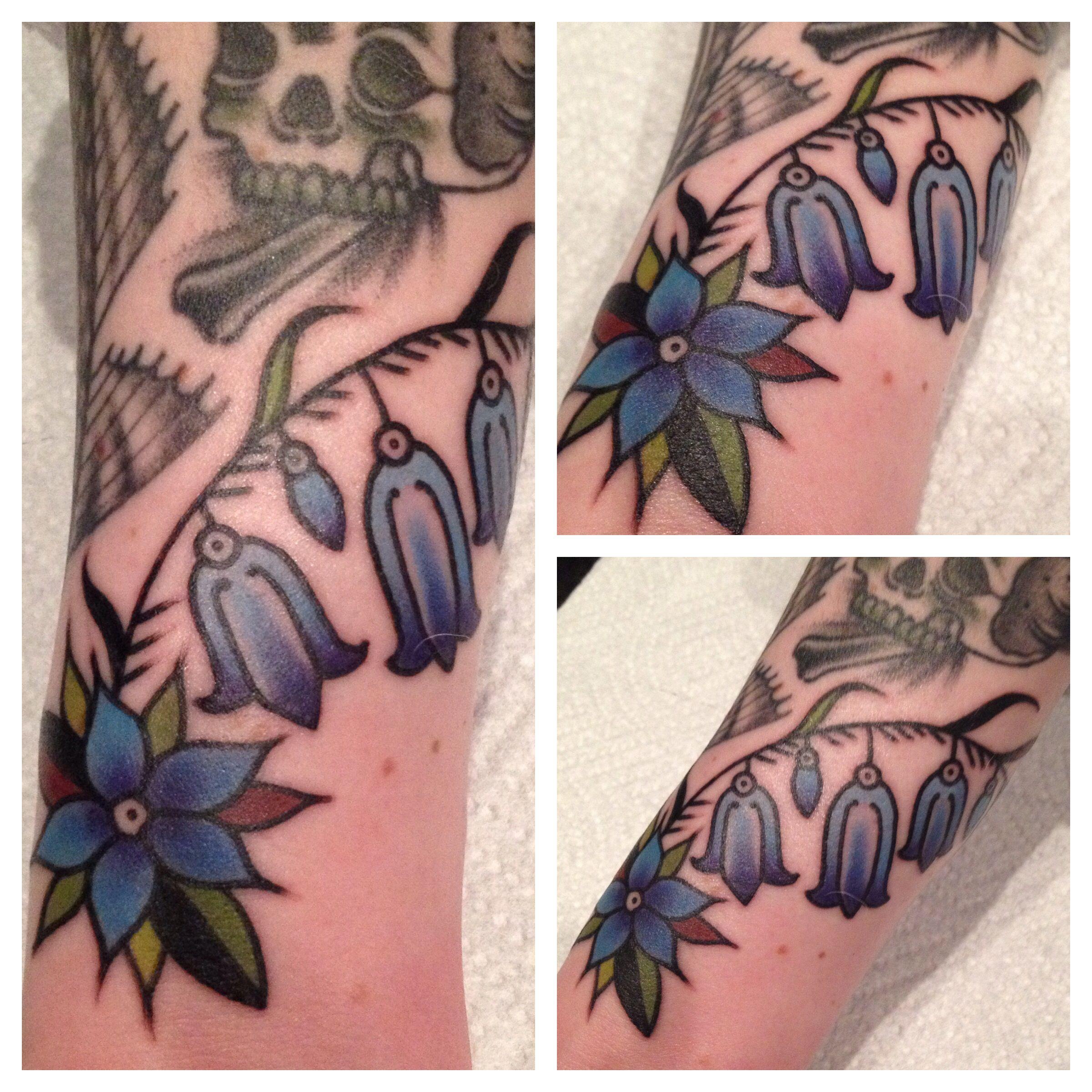 f70c843f1 Bluebell tattoo | It's Personal | Bluebell tattoo, Peonies tattoo ...