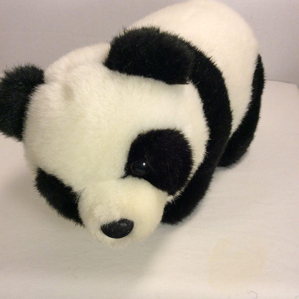 Predownload: Aurora Plush Panda Bear Stuffed Animal Black White 11 Extremely Soft Aurora Bear Stuffed Animal Panda Bear Plush Stuffed Animals [ 1000 x 1000 Pixel ]