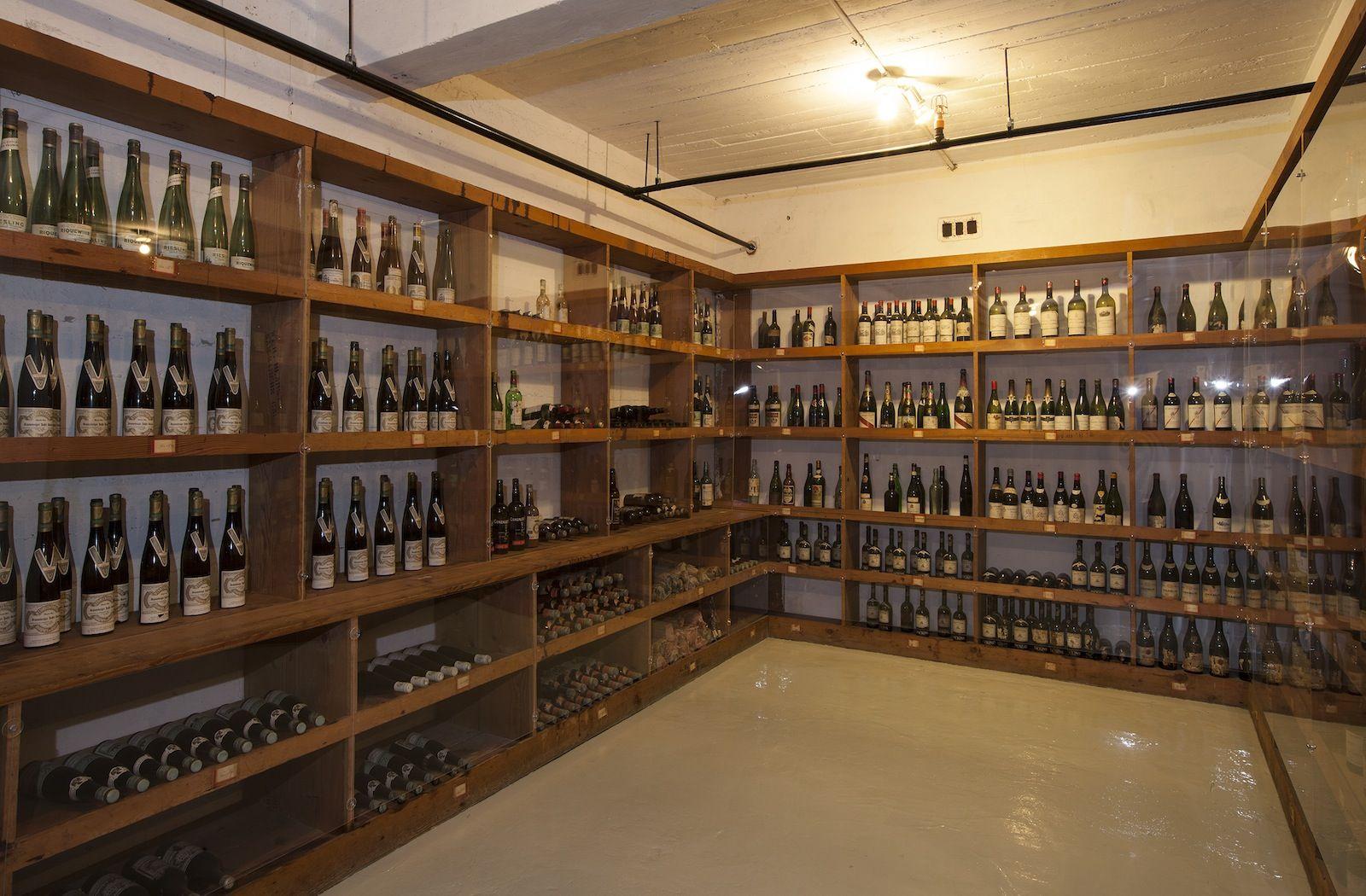 29 Descend Into A Billionaire S Wine Cellar William Randolph