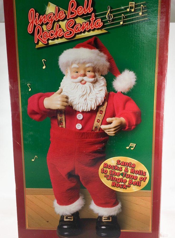 Jingle Bell Rock Santa Animated Musical Dancing 1998 Christmas Edition #ChristmasFantasyLtd ...