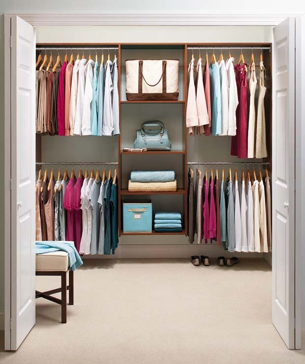 Organizing Small Bedroom learn to love your closet, big or small | small closet